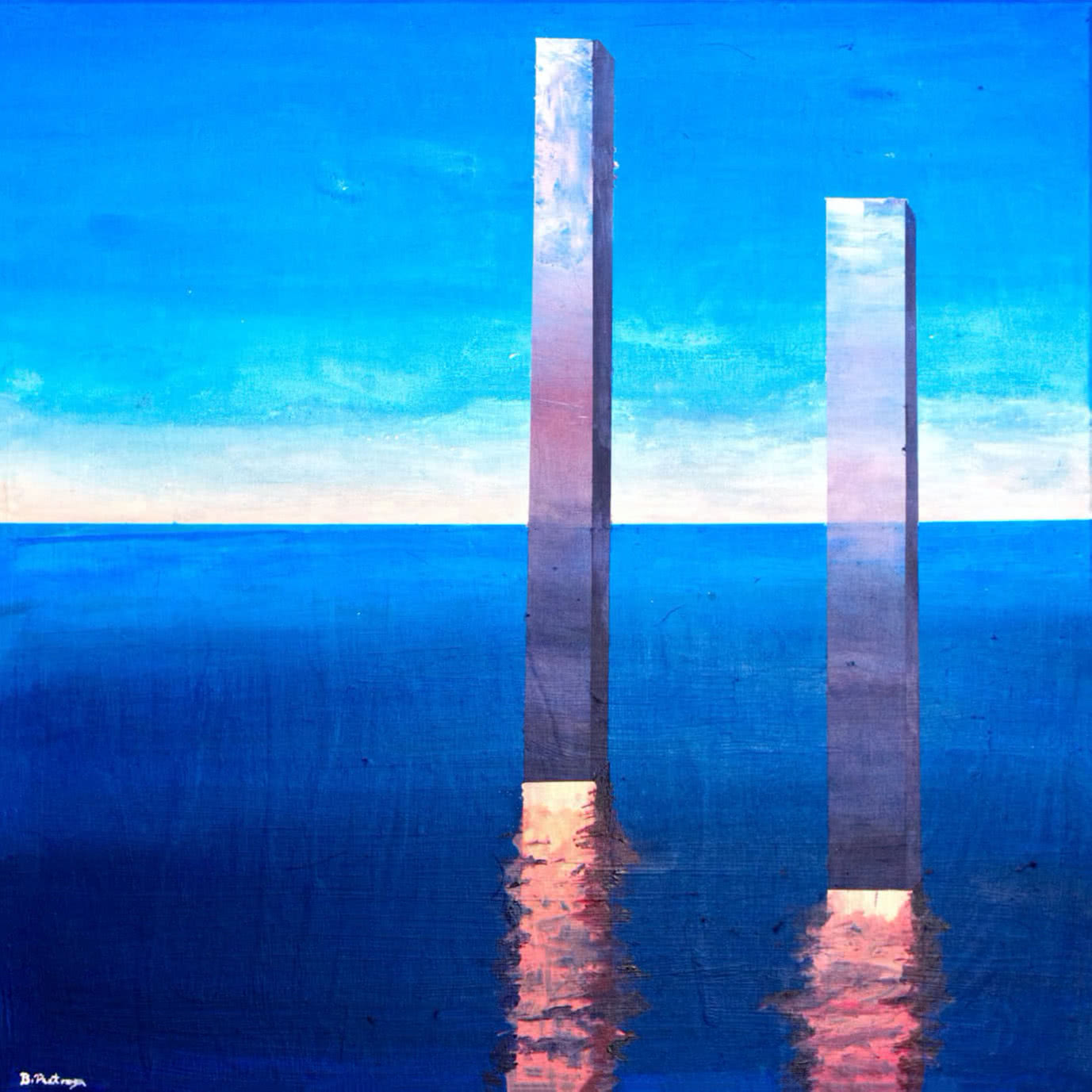 Bernard Pietraga Sea Painting 2020