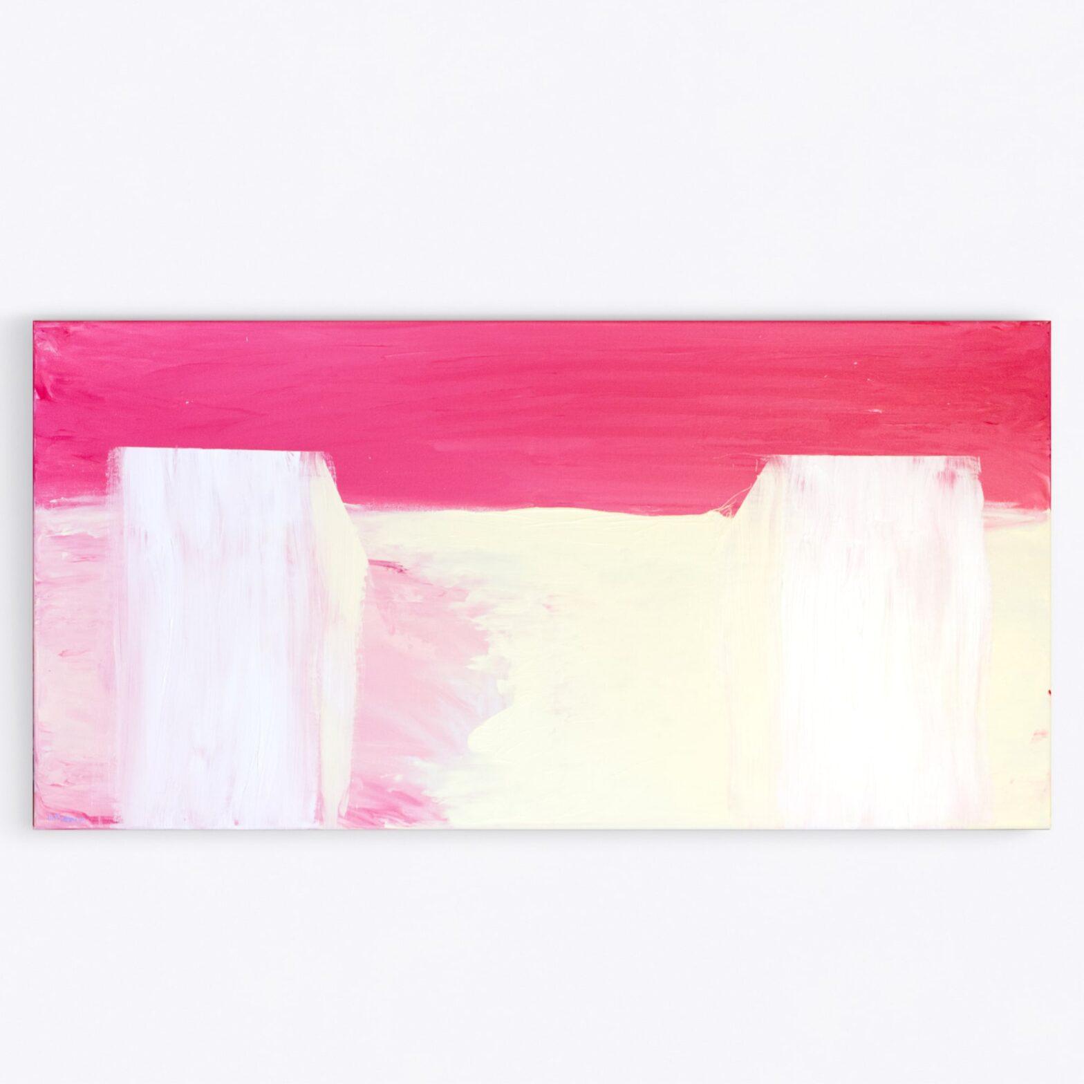 Silence, Bernard Pietraga Painting, Acrylic on Canvas, Modern art